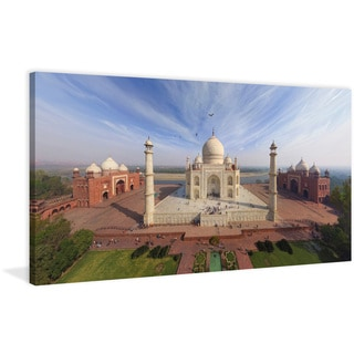 Marmont Hill - 'Taj Mahal' Painting Print on Wrapped Canvas