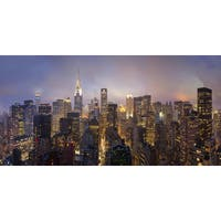 Marmont Hill - 'USA NY' Painting Print on Wrapped Canvas - Multi-color