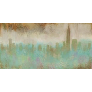 Marmont Hill - 'Shrouded Skyline' by Rick Novak Painting Print on Wrapped Canvas