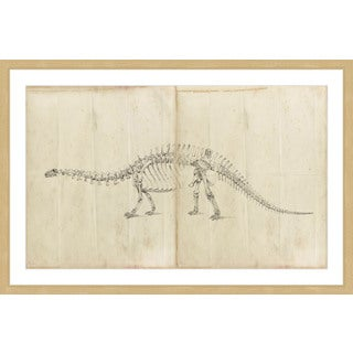 Marmont Hill - 'Dinosaur Study I' Framed Painting Print