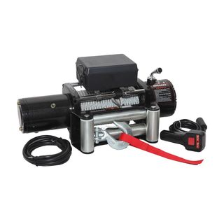 Maxload 12-volt Electric Recovery Winch with Remote