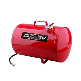 Speedway Metal 10-gallon Portable Air Tank - Red