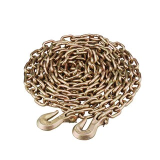 Maxload Truckers Yellow Zinc-plated Metal 5/16-inch x 20-foot Utility Chain