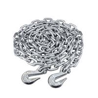 Maxload Silvertone Stainless Steel 3/8-inch x 14-foot Towing Utility Chain