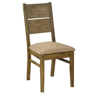 Mainz Tan Wood Dining Chair (Set of 2)