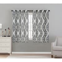 VCNY Luxor Window Curtain 54 x 63-inch or 54 x 84-inch Panel Pair