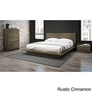 Stellar Home Furniture Queen Low-profile Platform Bed