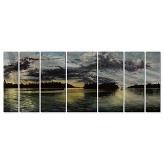 Tracy Frizzell French Narrows at Dusk Metal Wall Art