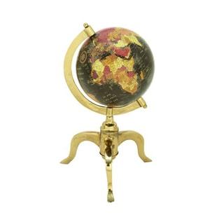 Benzara Gold Aluminum Functional Globe