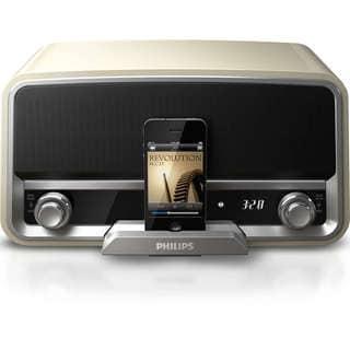Philips Original 30-Pin Charging Radio for iPod/iPhone