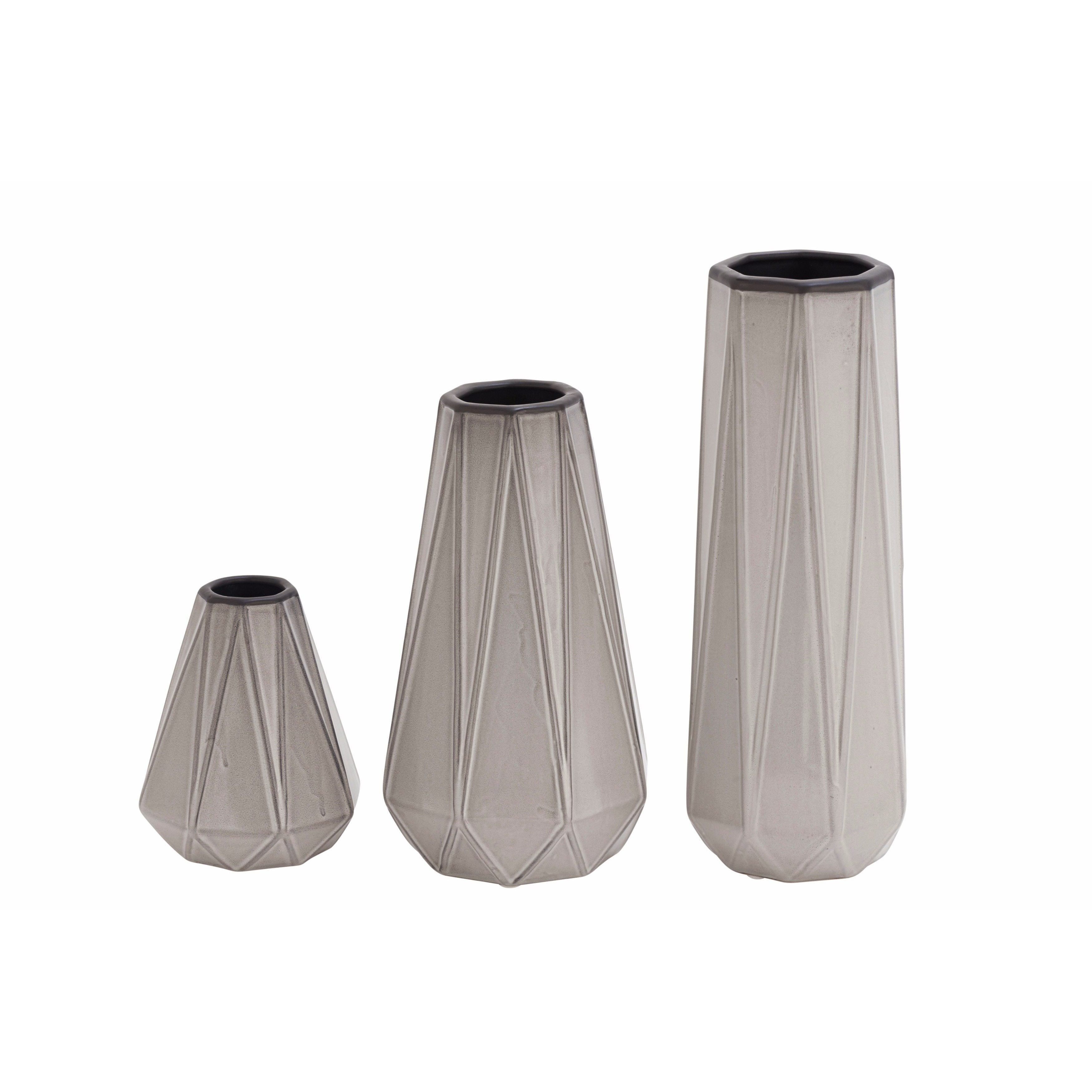 Benzara Fabulous Ceramic Vase (Set of 3)