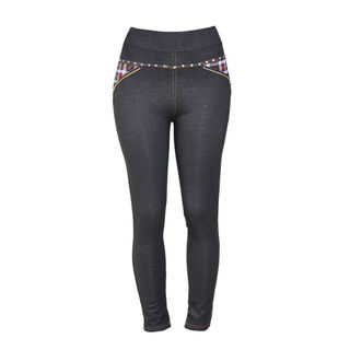 Women's Polyester Fleece-lined Jeggings