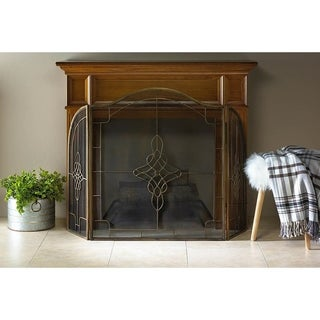 Livingston Elegant Fireplace Screen