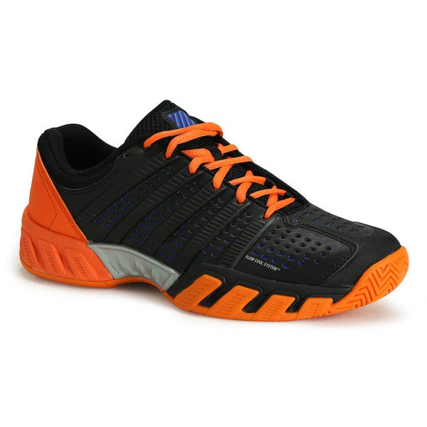 Orange Synthetic Leather Tennis Shoes