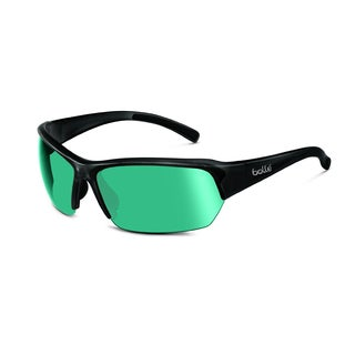 Bolle Ransom Shiny Black CompetiVision Gun Oleo Sunglasses
