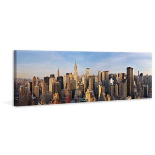 Marmont Hill - 'Manhattan 2' Painting Print on Wrapped Canvas