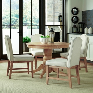 Home Styles Classic 5-Piece Dining Set in White Wash Finish