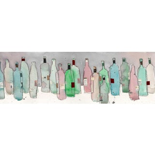 Marmont Hill - 'Wine Party III' Painting Print on Wrapped Canvas - Multi-color
