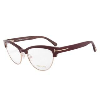 Tom Ford TF5365 071 54mm Burgundy/Gold/Beige Frame Eyeglasses Frames