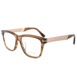 Tom Ford TF5372 048 56mm Swirl Brown/Taupe Frame Eyeglasses Frames