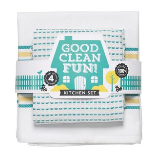 Good Clean Fun Kitchen Dishtowel (Set of 2)