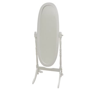 Princess Chavel Freestanding Wood-framed Mirror