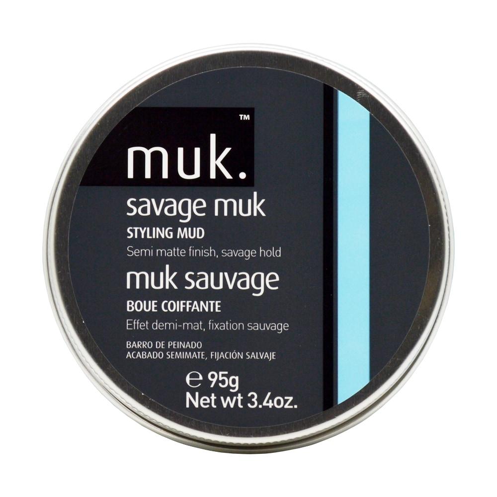 Muk Savage Muk 3.4-ounce Styling Mud (Brown)
