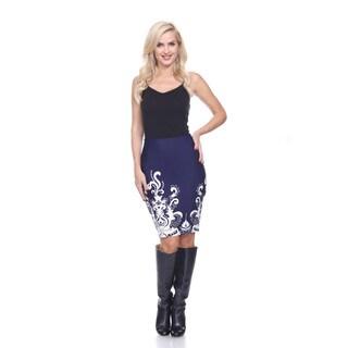 Women's Knee-length Pencil Skirt