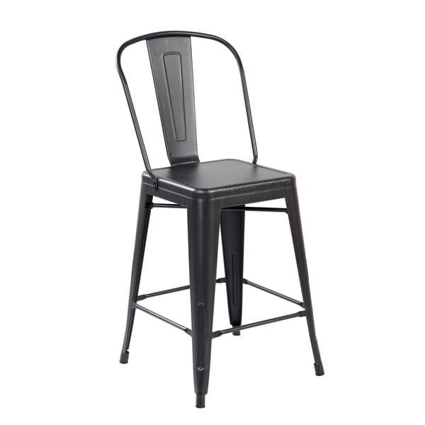 26 inch Seat Height Industrial Iron Counter Dining  : Industrial 26 inch Iron Counter Dining Barstool with Back Set of 2 1c05fed3 6850 46dc 8cf5 cba1dadc5f04600 from www.overstock.com size 600 x 600 jpeg 13kB