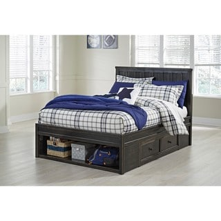 Signature Design by Ashley Jaysom Black Twin Storage Bed