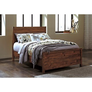Signature Design by Ashley Fennison Light Brown Twin Panel Bed