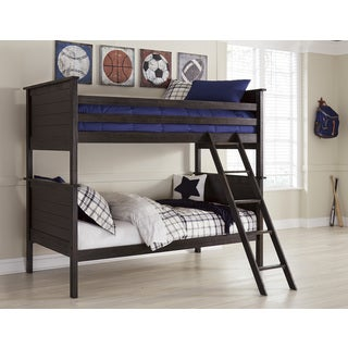 Signature Design by Ashley Jaysom Black Twin Bunk Bed