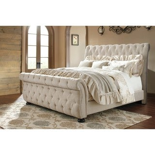 signature design by ashley willenburg linen california king bed
