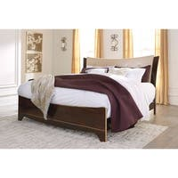 Signature Design by Ashley Willowton Brown Bed