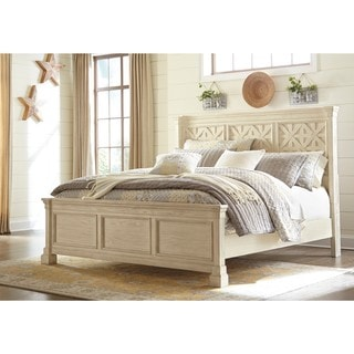 Signature Design by Ashley Bolanburg White Queen Panel Bed