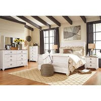 Signature Design by Ashley Willowton White Queen Bed
