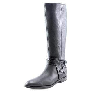 Nine West Women's Luciana Black Leather Boots