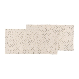 Now Designs Gala Gold Cotton Table Runner
