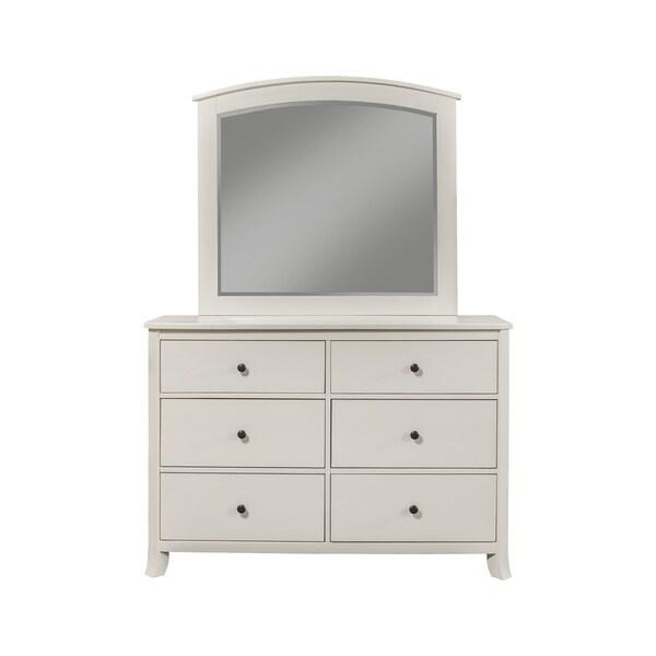 shop alpine baker 6 drawer dresser on sale free shipping today overstock 13047019. Black Bedroom Furniture Sets. Home Design Ideas