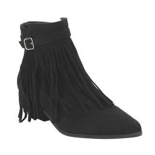 C Label Women's AE32 Fringe Zipper Buckled Low Block Heel Dress Ankle Booties|https://ak1.ostkcdn.com/images/products/13047022/P19786073.jpg?impolicy=medium
