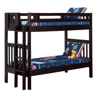 Cascade Bunk Bed Twin over Twin in Espresso