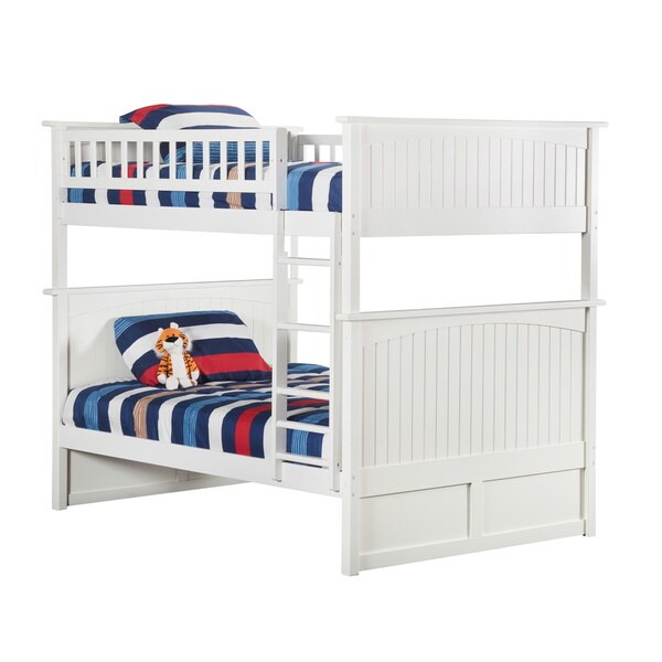 Shop Nantucket Bunk Bed Full Over Full In White Free