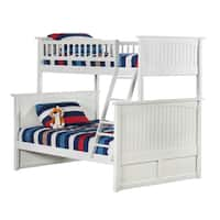 Nantucket Bunk Bed Twin over Full in White