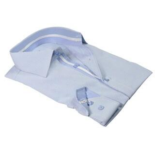 Rosso Milano Italy Men's European Modern-fit Dress Shirt