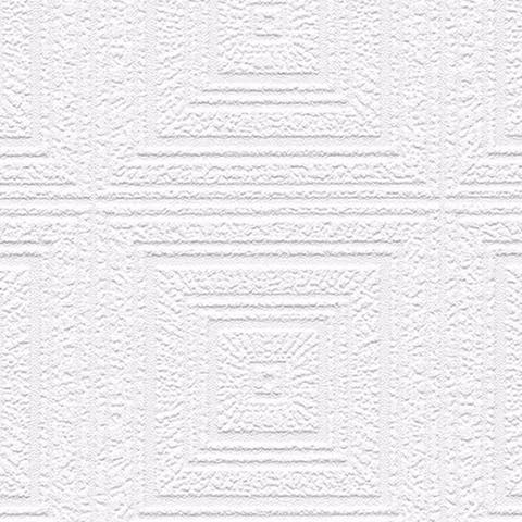 Grayson White 33-foot x 21-inch Textured and Paintable Wallpaper - 21 x 33'