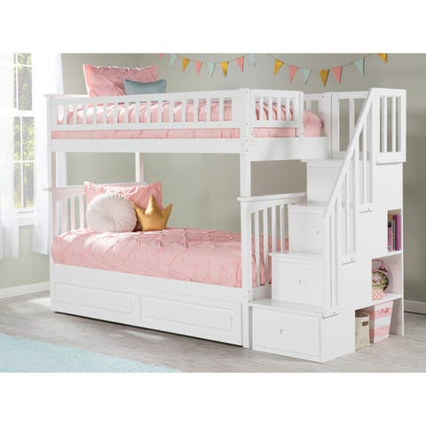 new styles 76bdb 88bba Twin Size Bunk Bed Kids' & Toddler Beds | Shop Online at ...