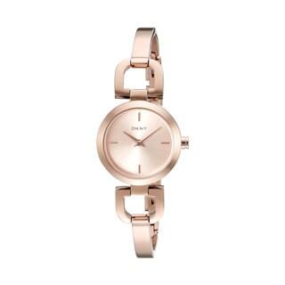 DKNY NY8542 Reade Women's RoPackone Stainless Steel Round Bracelet Watch