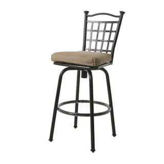 Bay Point II Bronze Aluminum 30-inch Bar Stool