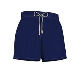 Boys' Navy Blue Polyester Swim Shorts