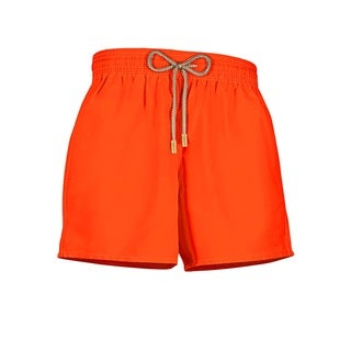 Kids Neon Orange Swim Short